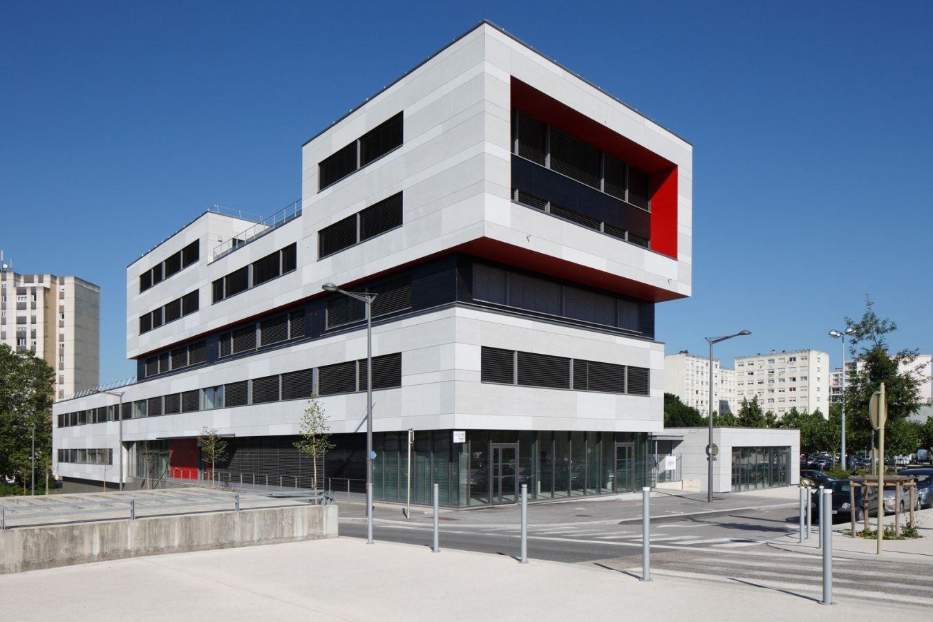 Archi tech cabinet d 39 architecture bas besan on doubs for Immeuble bureaux hqe